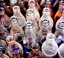 Glass Bottles 2 by TraceySpankus