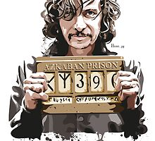 Sirius Black by hans-zombee