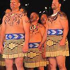 Male Maori Dancers, New Zealand by atkinnt