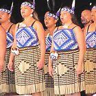 Female Maori Dancers by atkinnt