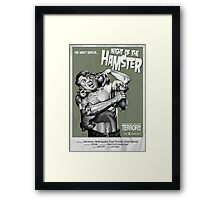 Night of the Hamster Framed Print