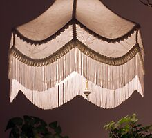 Hand Stitched Swag Lamp Shade by Sandra Foster