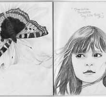 The Sketchbook Project Limited Edition Thumbelina by Jo Hawkins