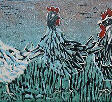 Bridget's Poultry 1 by Susan Duffey
