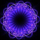 Pulsating Purple by Norma Jean Lipert
