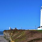 Nash Point Lighthouse by Paula J James