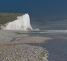 Rough Seas & The Seven Sisters by wiggyofipswich