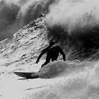 Whitesands Surfer by AeronJohn