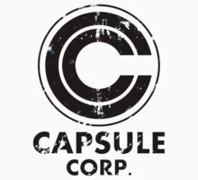 Capsule corp vintage version ( black) by karlangas