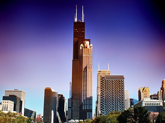 View of Willis Tower by Milena Ilieva