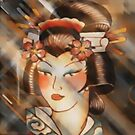 Geisha by Roland Richter
