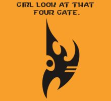 Girl Look at that Four Gate by BioHazardMutant
