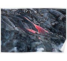 Lava Flow at Kalapana 11 Poster
