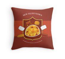 New Fluffytown | Community Throw Pillow