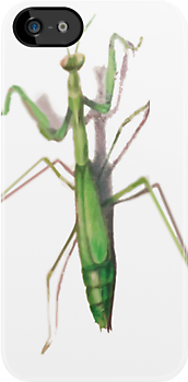 Mantis - iPhone 3GS / iPod Touch 4G by marinasinger