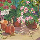 Pots and Petunias by Bellarina74