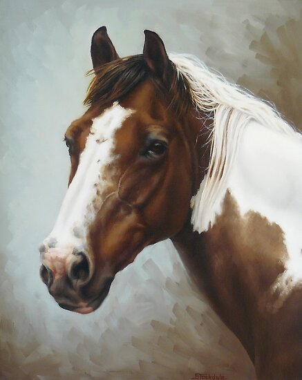 Paint Portrait by Margaret Stockdale