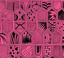 Doodles in Pink by KeLu