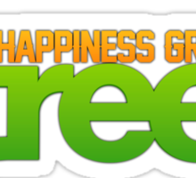 Happiness Grows On /r/trees Sticker