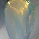 Angel in opalite crystal by © Pauline Wherrell