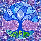 Moon-Tree Mandala by Elspeth McLean