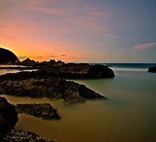 Burgess Rocks Sunset by bazcelt