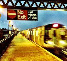 Subway Flurries by ARPunk