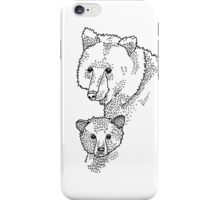 Mummy and Baby Bear iPhone Case/Skin