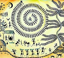 Warli Day by AnjaliVaidya