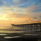 Low-Tide in Southport by kirilart