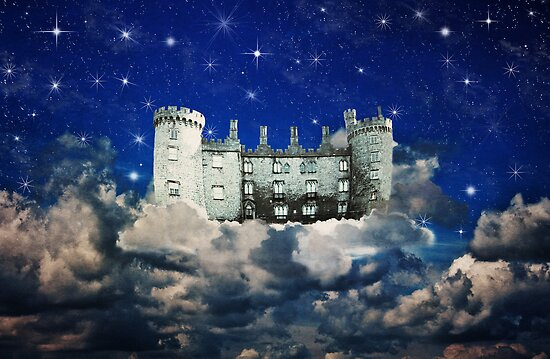 Castle in the Sky (Childhood Memories) by Denise Abé