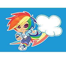 MLP Gijinka Rainbowdash  Photographic Print