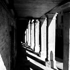 Colonnade in Venice by Michele Filoscia