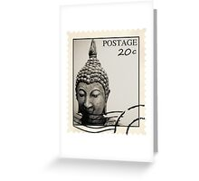 Buddha Postage Greeting Card