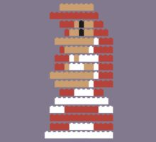 8-Bit Brick Peach by McLovely