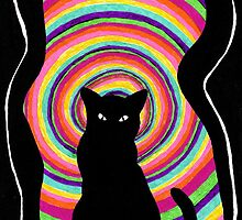 time for child stories: the BLACK CAT by ROUBLE RUST