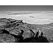 A few hundred million years contemplating twenty seven centuries... Photographic Print