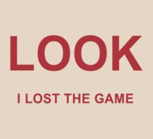 I Lost the Game by lettucefiends