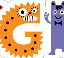 TGIF Monsters Sticker
