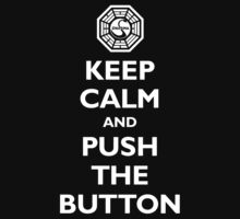 Keep calm and push the button (Every 108 minutes) Kids Clothes