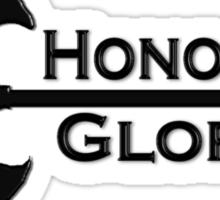 Honour & Glory Sticker