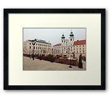 Historic Széchenyi Square II Framed Print