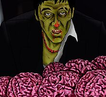 Zombie Tony Montana by Splatt