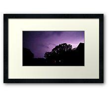 May 1 2012 Morning Storm 10 Framed Print