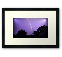 May 1 2012 Morning Storm 20 Framed Print