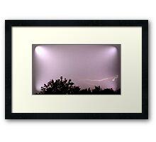 May 1 2012 Morning Storm 63 Framed Print