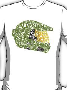Halo text Art T-Shirt