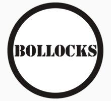 Giant Button: Bollocks by MelancholyChild