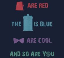 Doctor Who T-Shirt - Colour by SallyDiamonds