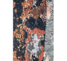 Abstract Rust Photographic Print
